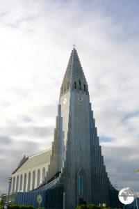 The towering Hallgrímskirkja.