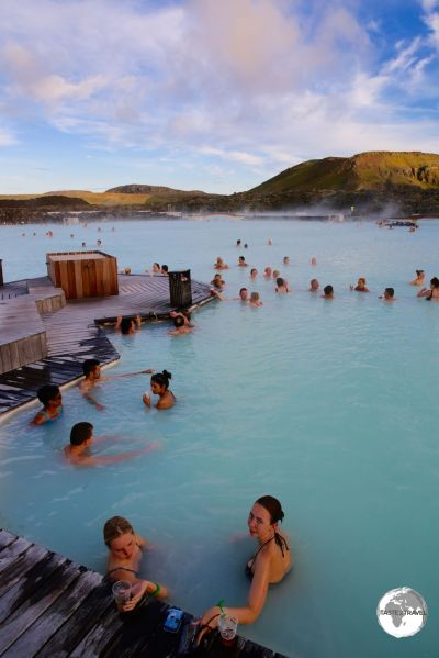 The very spacious and relaxing Blue Lagoon.