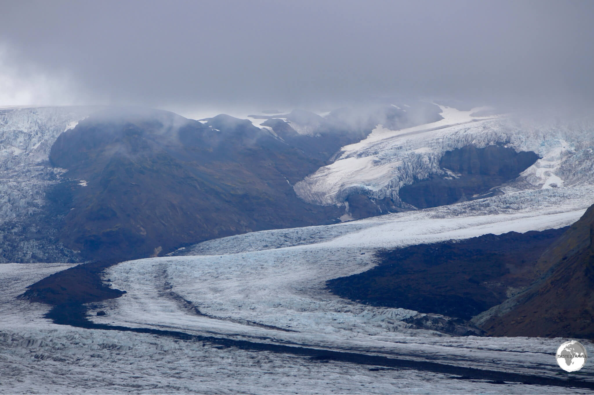 Skaftafellsjökull, a small spur of the much larger Vatnajökull.