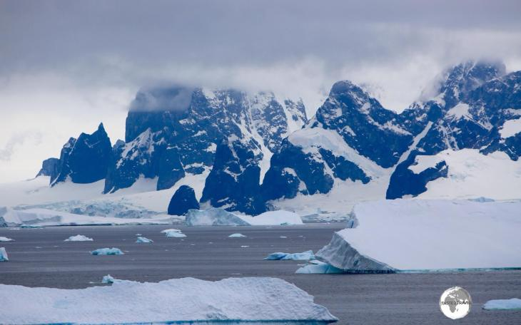 The breath-taking scenery of Crystal Sound as seen from Detaille Island.