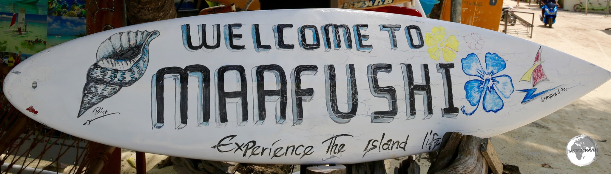 Maafushi is open to independent travelers.