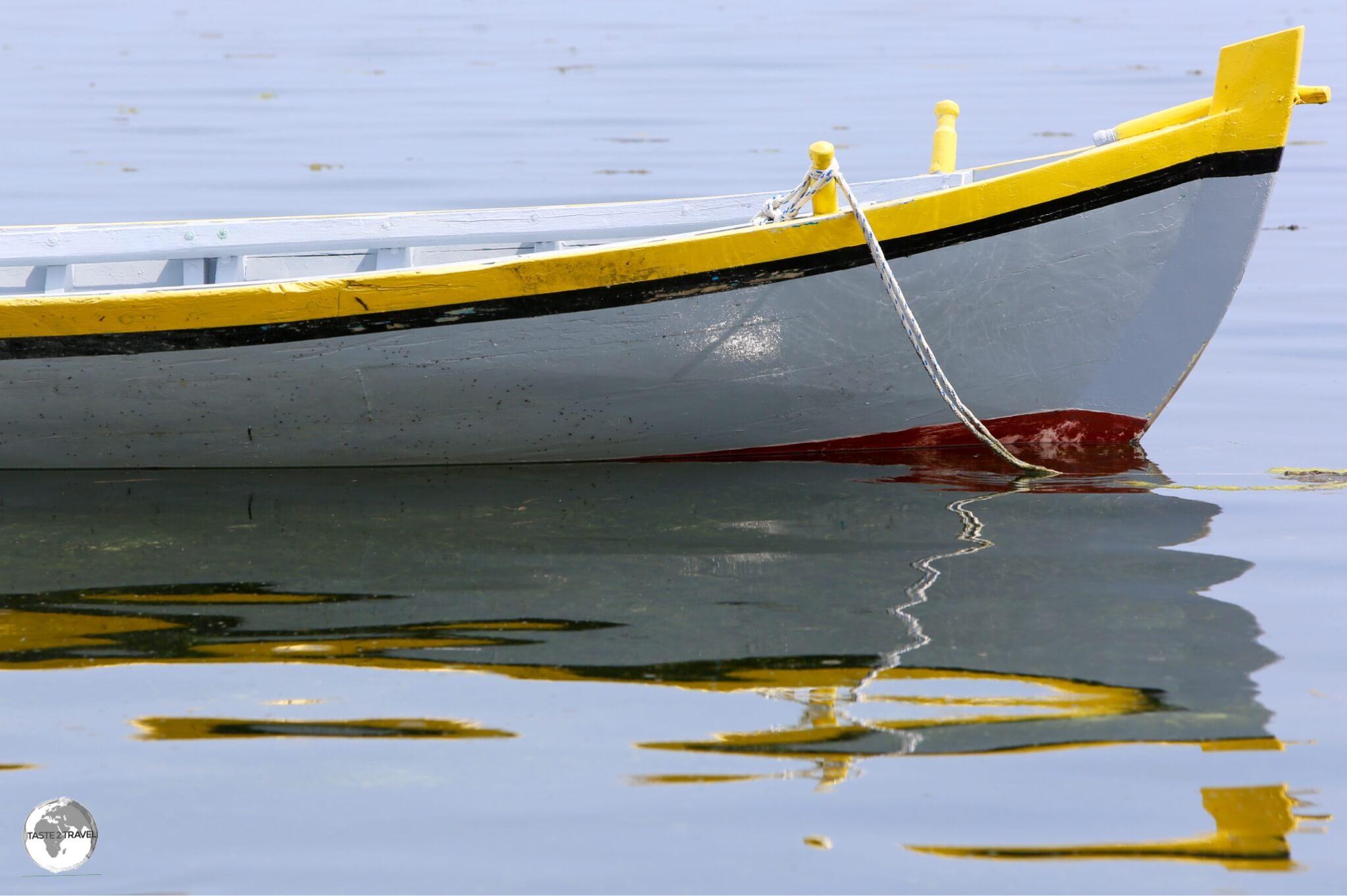 Traditional Boat on Maafushi.