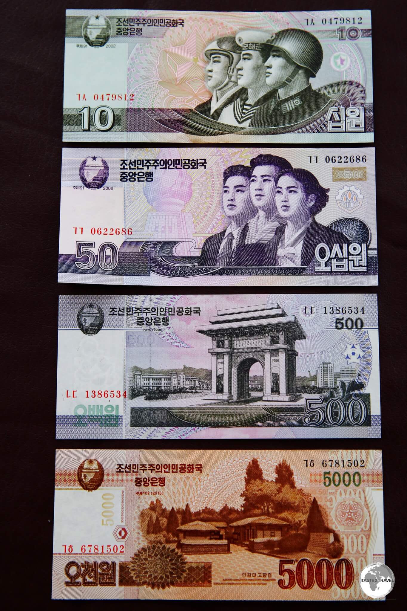 Currency: North Korea Won