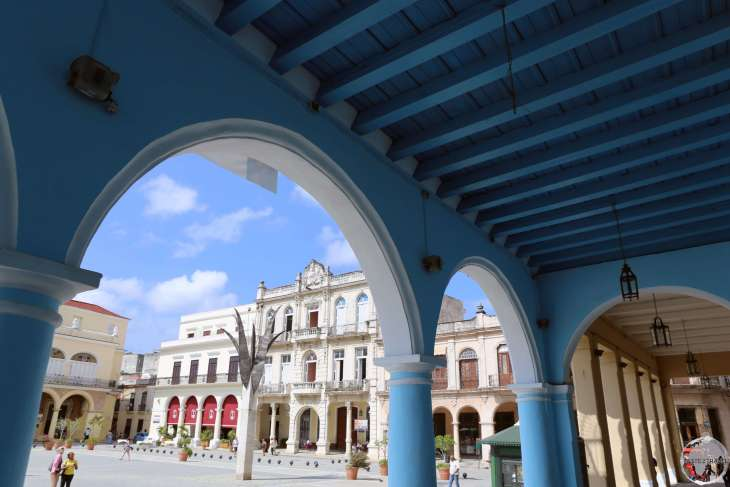 A treasure trove of Spanish-era colonial architecture, <i>Plaza Vieja</i>, in Havana old town, dates from 1559.
