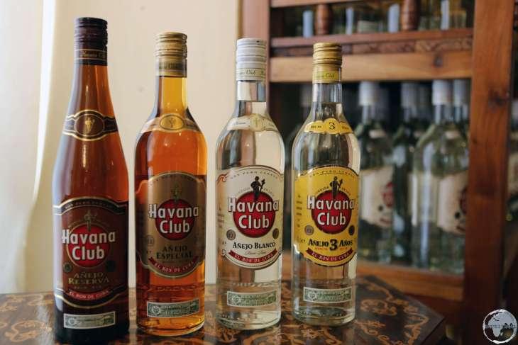 Havana Club is Cuba's most popular rum export.