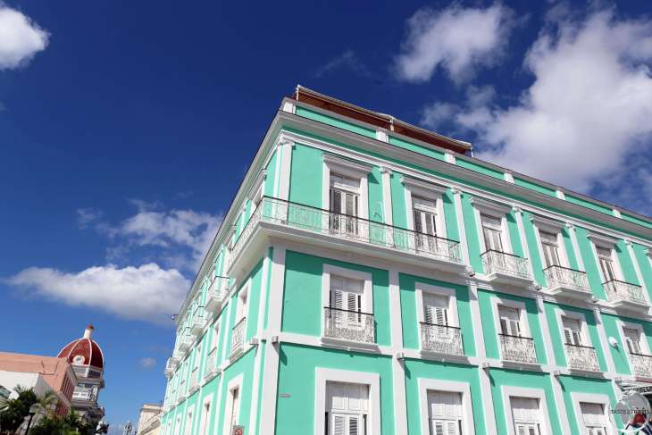 The charming 4-star La Union Hotel, located in the heart of Cienfuegos.