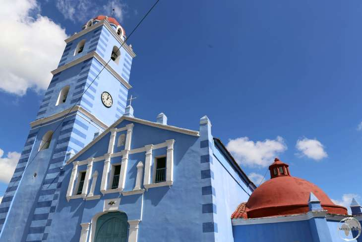 Cuba's oldest church - the 16th century Parroquial Mayor in Sancti Spíritus.