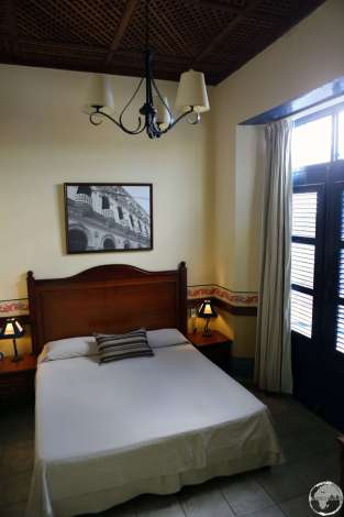 My beautiful room at Hotel del Rijo.