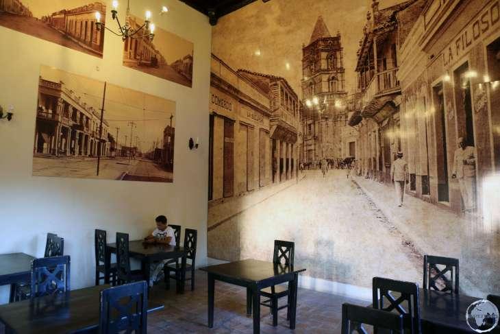 Cafe in Camagüey.
