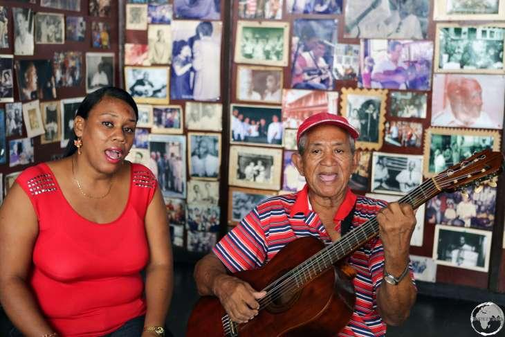 Live music at Casa de la Trova in Santiago de Cuba.
