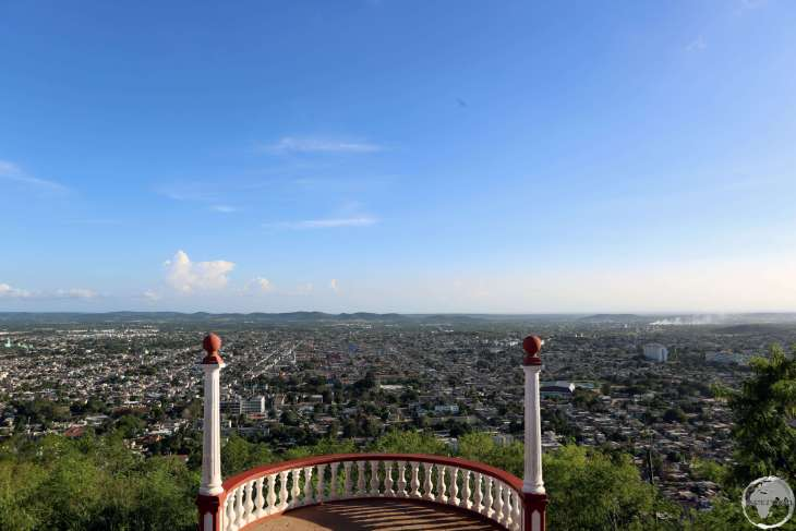 A panoramic view of Holguin from the summit of Loma de la Cruz (Hill of the Cross).