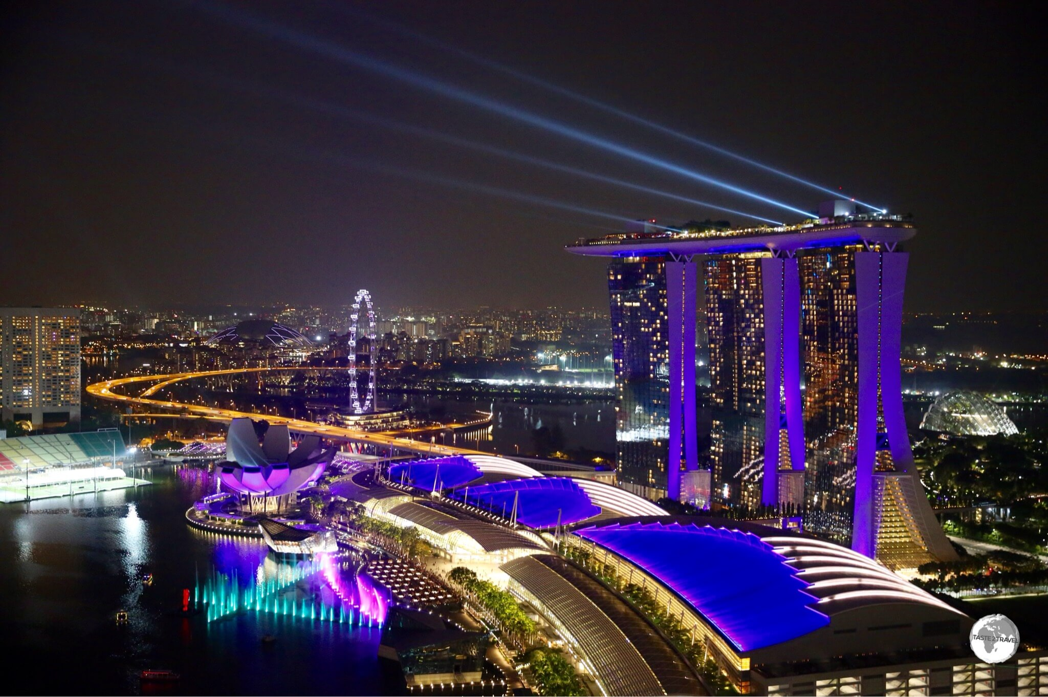 Marina Bay Sands is a hotel, casino and shopping complex located in which city?