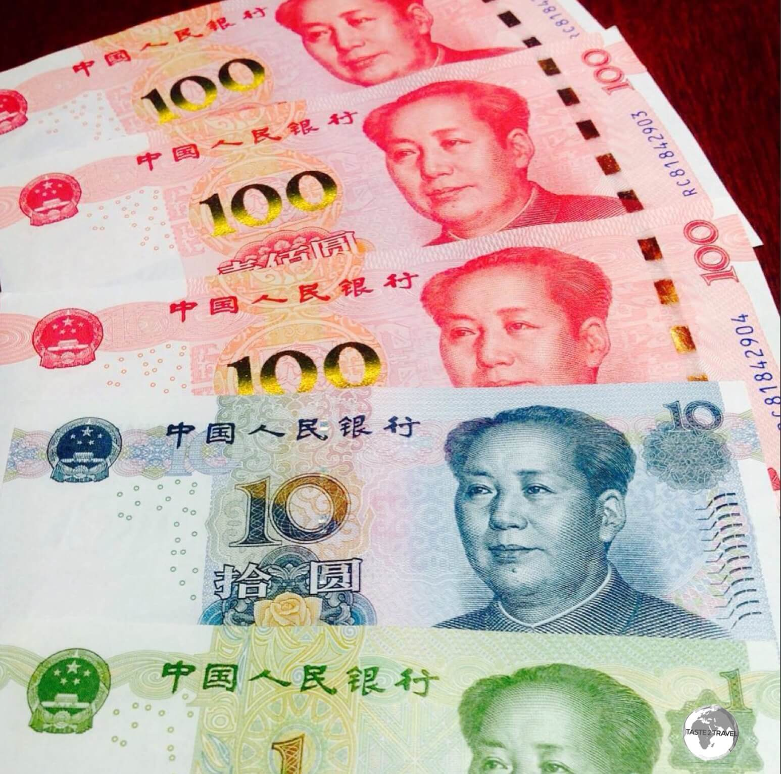 Currency: Chinese Yuan