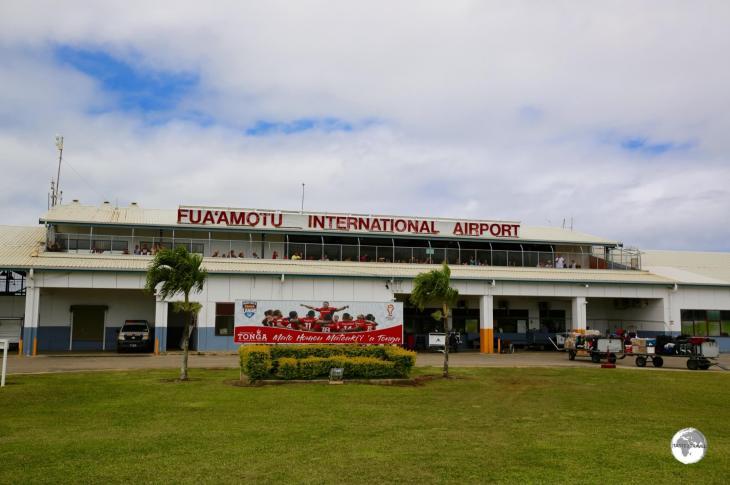 Fua'amotu International Airport - the gateway to Tonga.