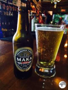 Beer # 1 of my Billfish tasting - Mata Maka.