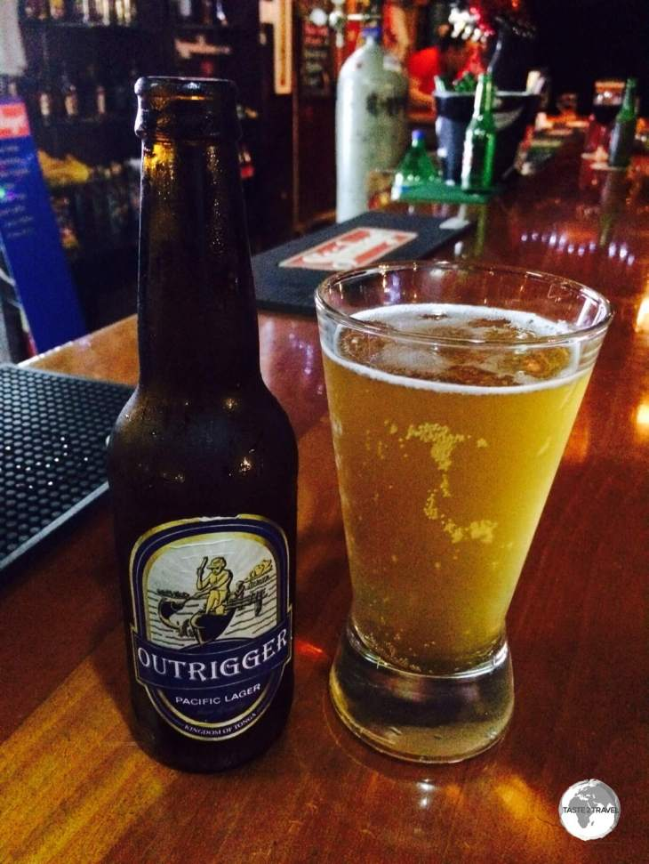 Beer # 5 of my tasting - Outrigger (now sadly no longer produced).