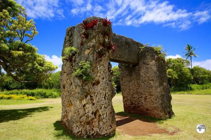 The #1 sight in Tonga - the impressive Haʻamonga ʻa Maui (the Stonehenge of the Pacific).