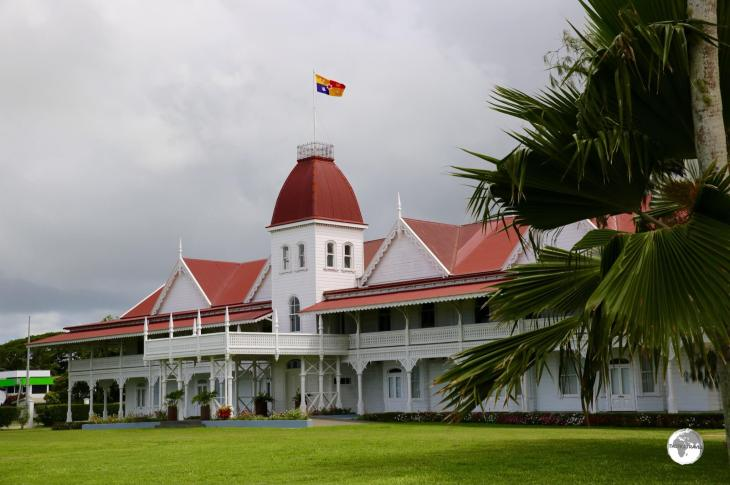 The official residence of the King of Tonga, the Victorian-style, wooden Royal Palace overlooks the waterfront in Nuku'alofa.