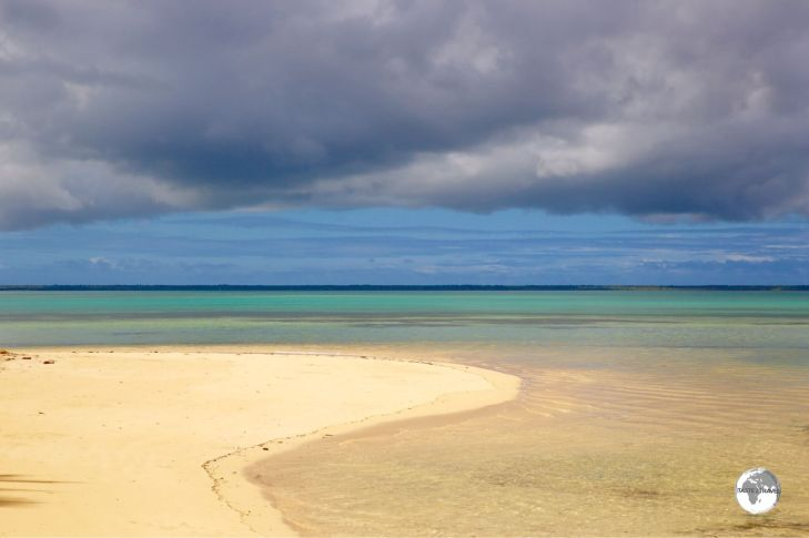 The Beach at the Royal Sunset on 'Atata Island.