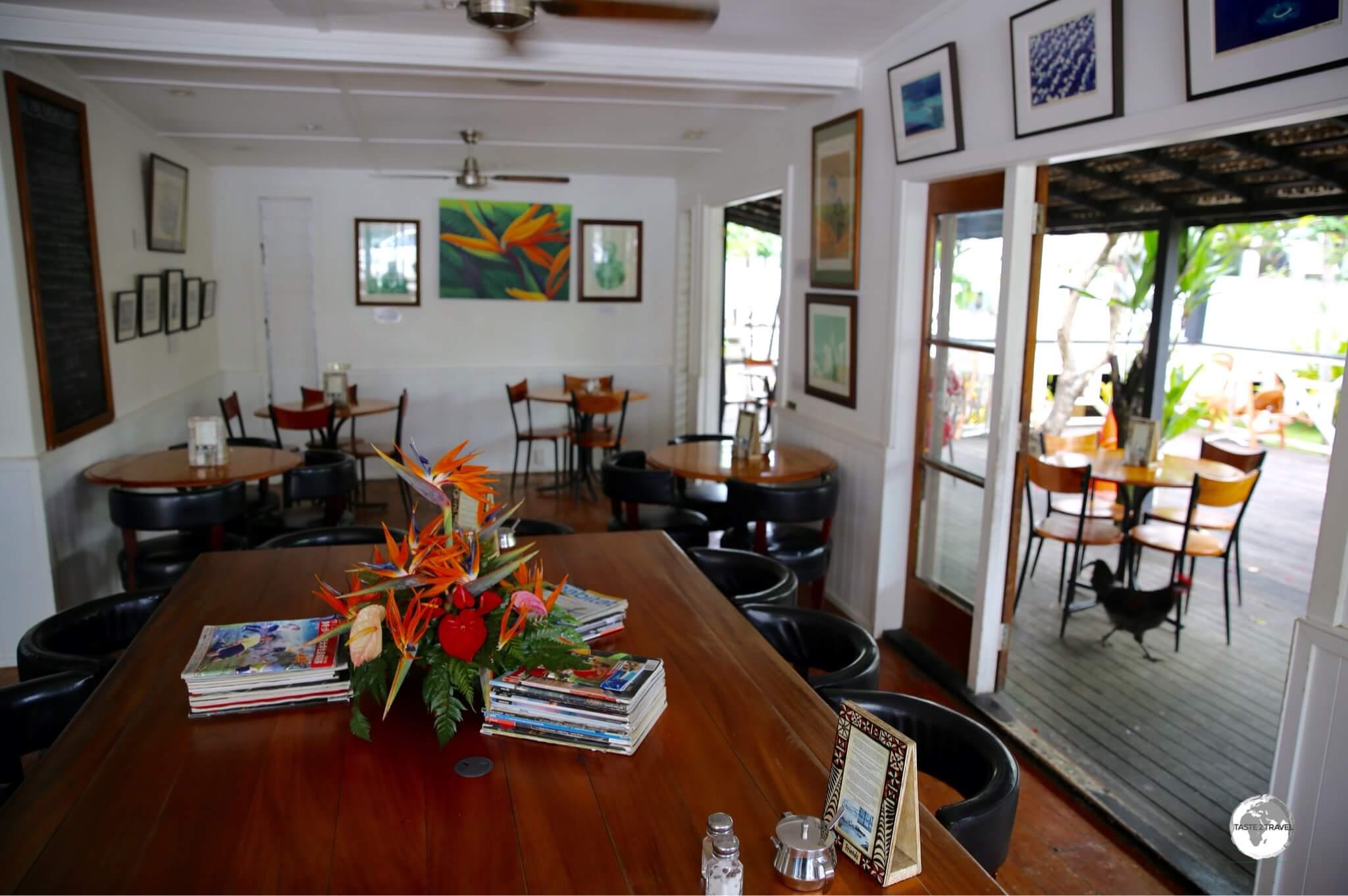 My favourite café in Tonga - Friend's Café.