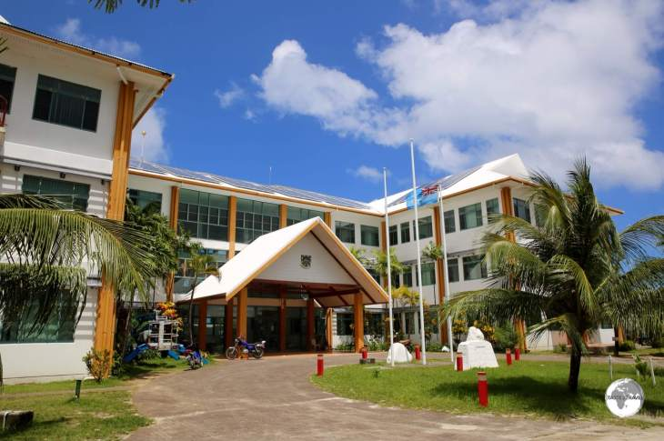 The Tuvalu Government building (opposite the airport) houses all government departments including the one tourist officer who works for the Department of Foreign Affairs.