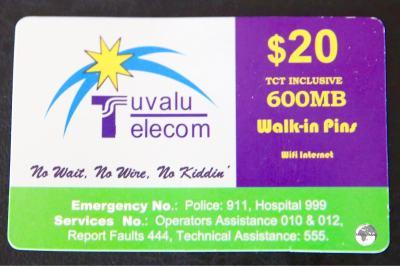 A TCC Wi-Fi card.