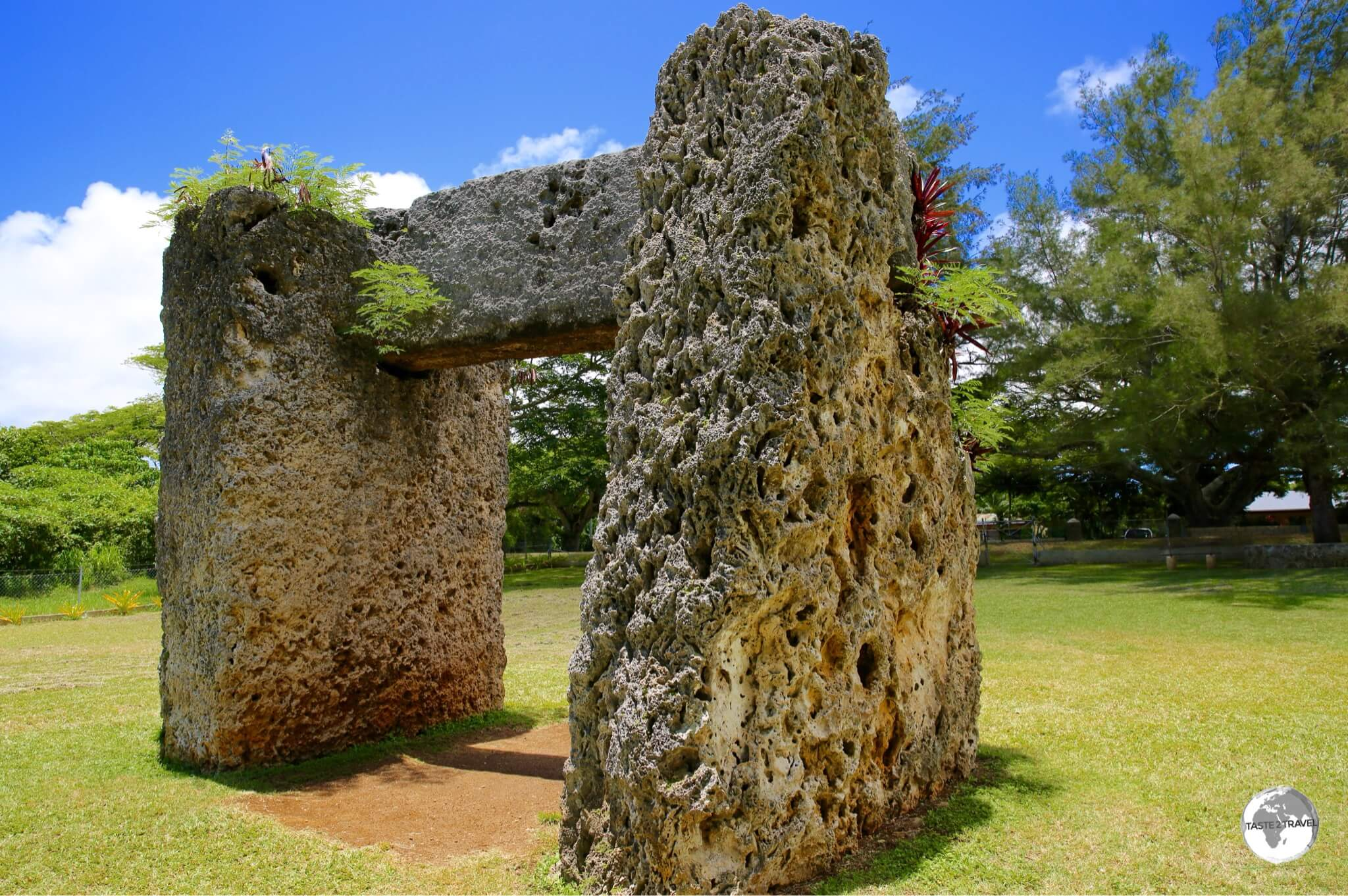 The Ha'amonga a Maui stands as an impressive monument to the ingenuity of the ancient Polynesians.