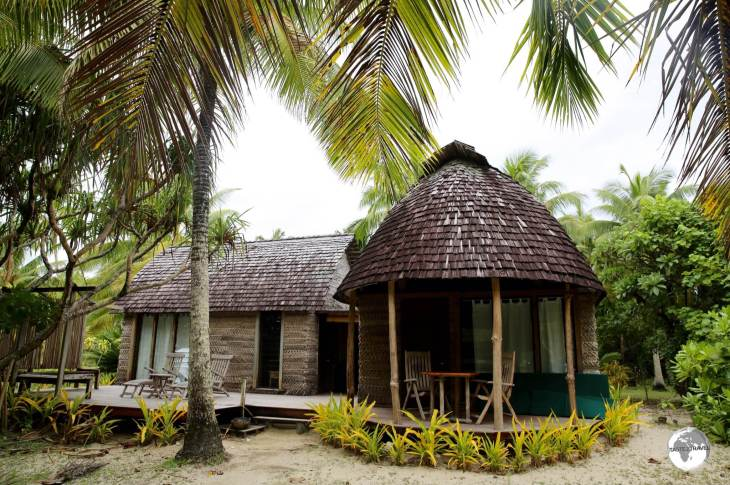 The 'Fales' at Fafa Island resort are set in secluded locations around the island, maximising privacy for their guests.