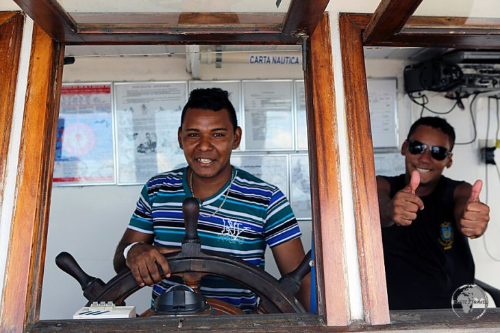 The captain of my slow boat from Manaus to Santarém.