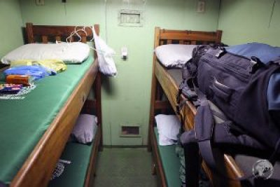 My cosy cabin on the MV Amazonia from Santarem to Belem.