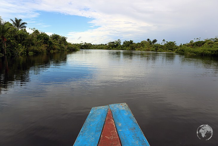 The numerous waterways around Iquitos are full of attractions.