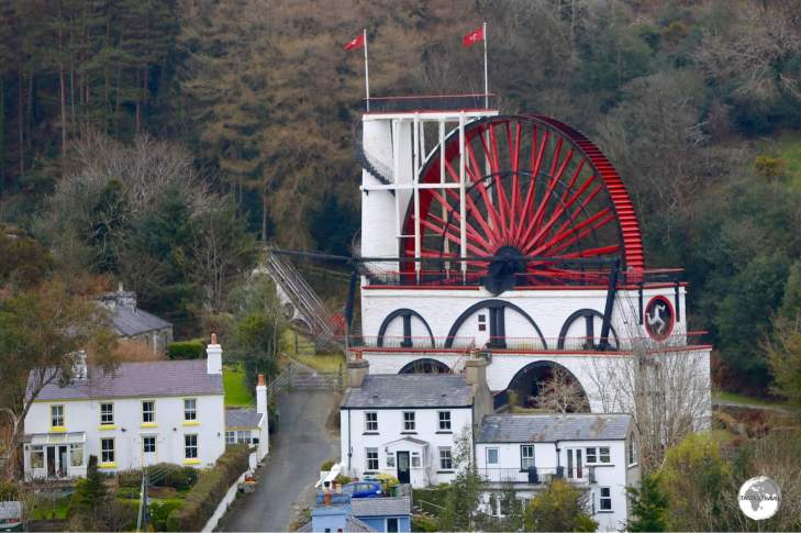 The Laxey wheel is the largest working waterwheel in the world.