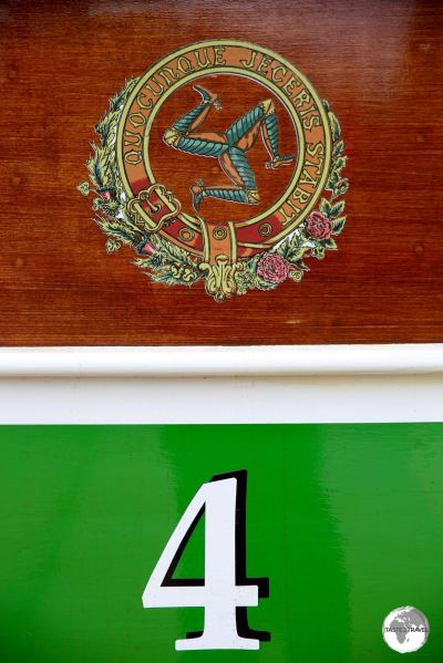 Details from a Manx Electric Railway carriage.