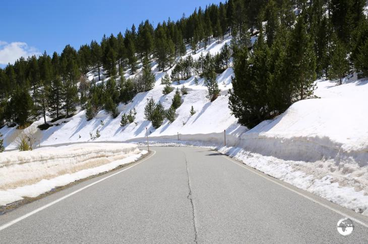 Roads in Andorra are generally in excellent condition.