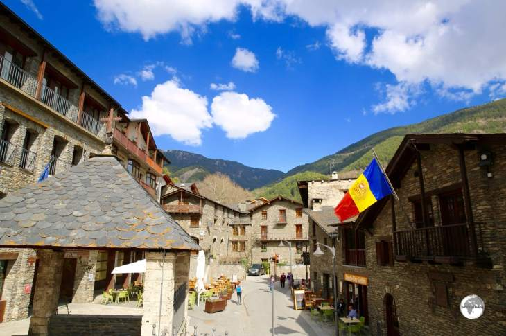The picturesque old town of Ordino.