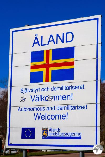 Welcome to the Åland Islands.