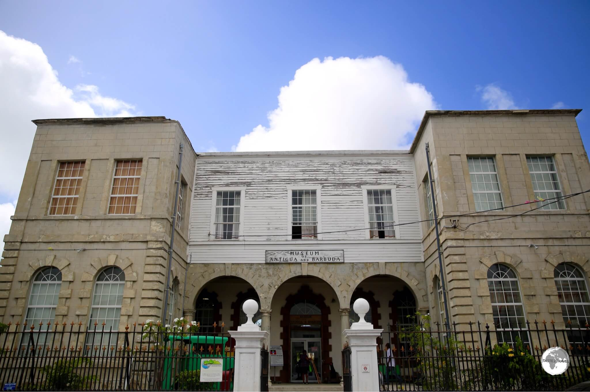 The Museum of Antigua & Barbuda in St. Johns.
