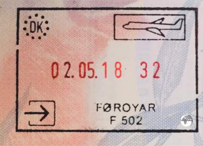 A Faroese passport stamp can be obtained from the police station at the airport.