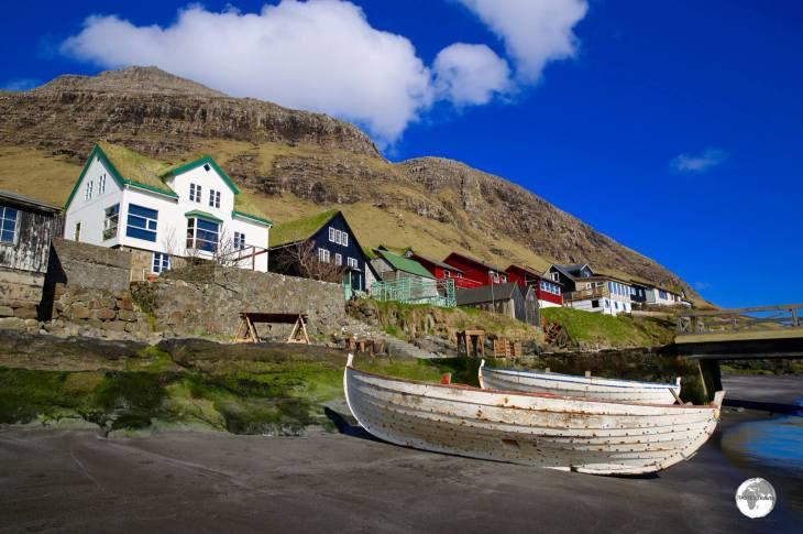 The picturesque village of Bøur.