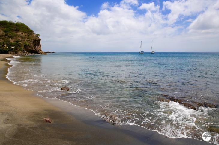 Little Bay offers ideal swimming on a beautiful black-sand beach and great sunset views.