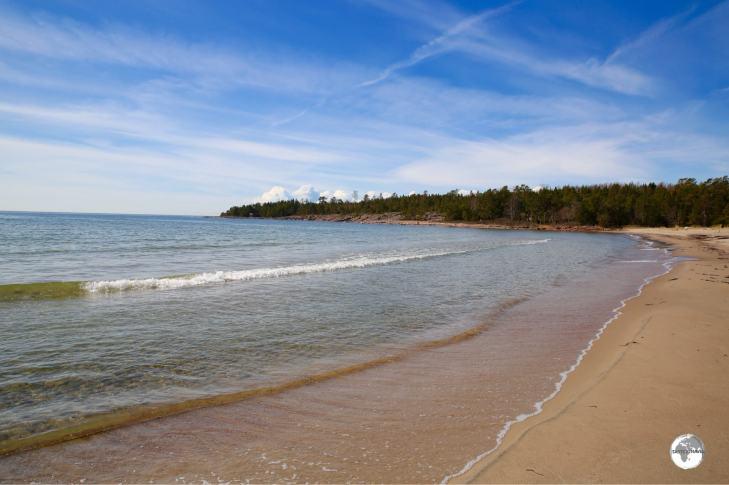 Degersand beach is considered the best beach on the Aland islands.