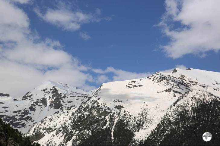 The view from the Arinsal ski resort.