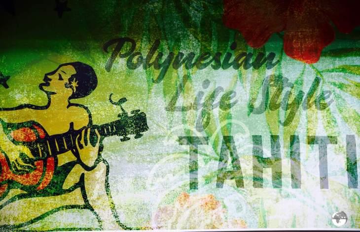 Street art in Papeete.