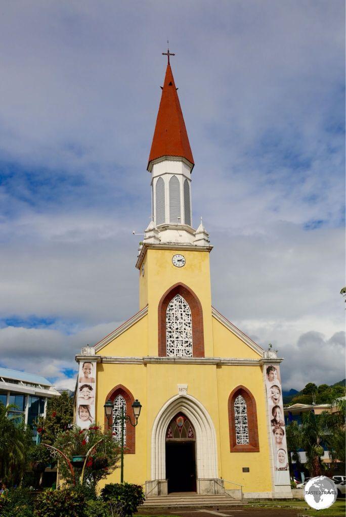 Papeete Catholic Cathedral.