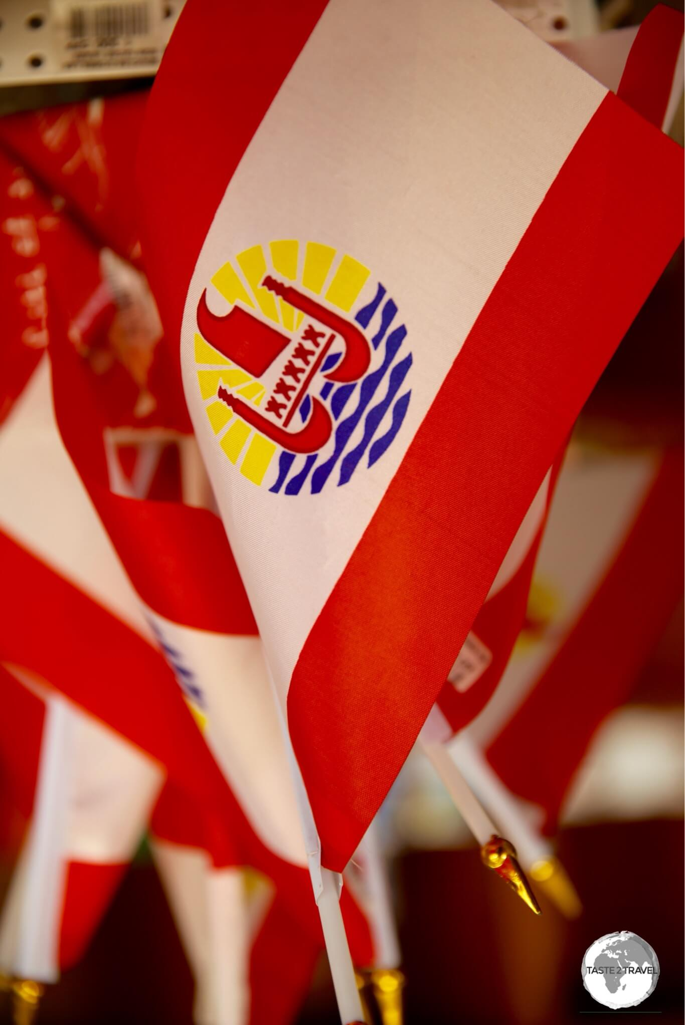 The flag of French Polynesia.