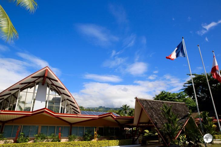 French Polynesia Travel Guide: The parliament of French Polynesia - the Territorial Assembly.