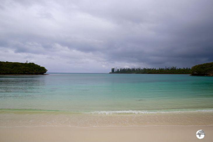 New Caledonia Travel Guide: The beautiful Kanumera Bay lies a short walk from Kuto bay.