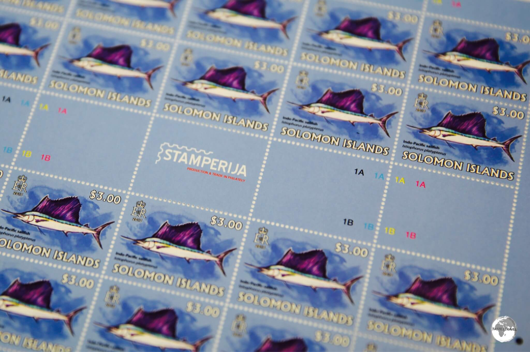 Solomon Islands stamps are produced in Lithuania by Stamperija and can be purchased from their online store.