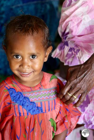Lots of warm, friendly smiles in Vanuatu.