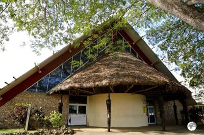 The National Museum of Vanuatu in Port Vila.